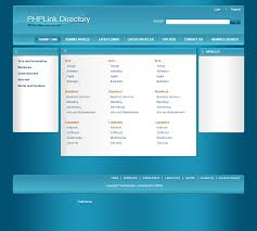 Php Link Directory Template Archive List Of Templates For Version4 1