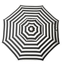 destinationgear 6 ft aluminum cabana stripe beach umbrella