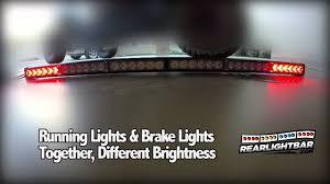 rear race light bar 35 rear led light bar with strobe for utv prerunner desert racing