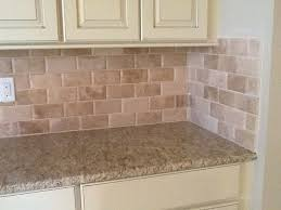 kitchen backsplash travertine beveled edge travertine backsplash kaiser flooring