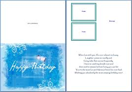 happy birthday cards best word card invitation design ideas greeting card template word