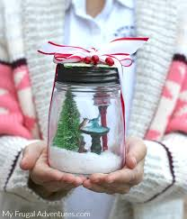 gift card snow globe christmas snowglobes gift my frugal adventures