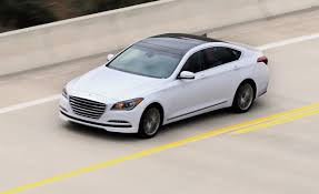 hyundai genesis road test 2015 hyundai genesis drive review car and driver