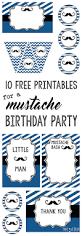 mustache invitations mustache party 10 free printables paper trail design