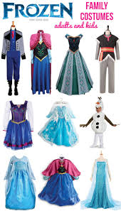 frozen costumes frozen costumes for the family