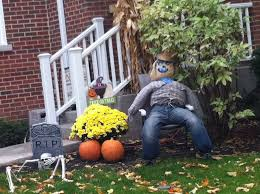 scary homemade outdoor halloween decorations house design ideas