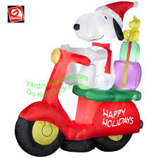 Snoopy Doghouse Christmas Decoration by Christmas Inflatables