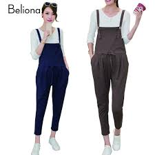 pregnancy jumpsuit maternity for comfortable linen cotton