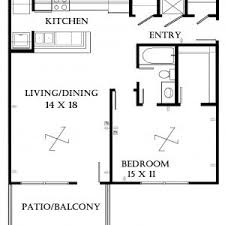 1000 Sq Ft Apartment by Fascinating One Bedroom Apartment Floor Plans 1000 Sq Ft Photo