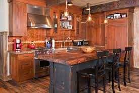 charleston wood top kitchen beach style with island traditional