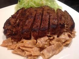 cuisine steak haché protein pasta with peri peri hache steak protein chef