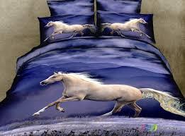 new horse duvet set single double s king duvet cover 100