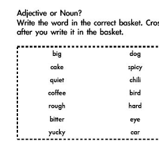 and adjective assessment