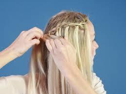 Frisuren Lange Haare Wasserfall by 1x1 Kennen Sie Schon Die Wasserfall Frisur Brigitte De