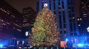 rockefeller center tree lighting 2017 list
