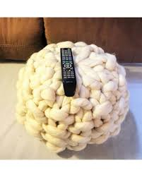 slash prices on ottoman knitted ottoman chunky knit pouf merino