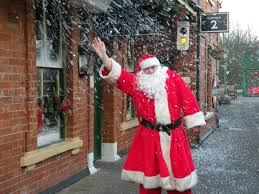 santa s coming to town santa s grotto and stop points in west