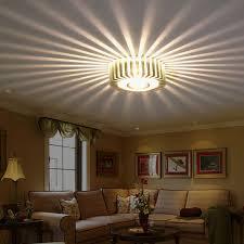 Ceiling Lights Home Led 3w Light Walkway Porch Decor L Sun Flower