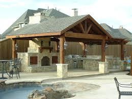 outdoor kitchen plan home design ideas