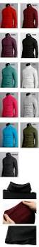 d1 mens thermal cotton turtle polo neck skivvy turtleneck sweater