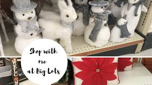 big lots fall and items shop with me
