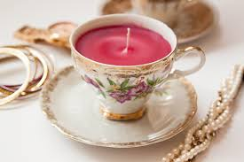 tea cup candles diy teacup candles thesassylife
