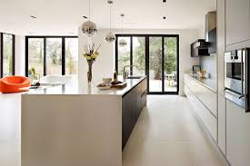 white kitchen ideas uk spacious contemporary kitchen kitchen design ideas