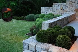 garden design ideas how to use shrubs for hedge founterior