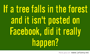 if a tree falls in the forest