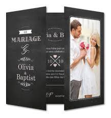 faire part mariage avec photo votre faire part de mariage ardoise rétro à personnaliser avec