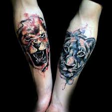 40 lion forearm tattoos for men manly ink ideas