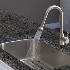 kitchen faucet plate vigo harrison single handle pull spray kitchen faucet with
