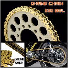 530 120l o ring chain kawasaki z650 zzr zxr 750 1100 1200 vn