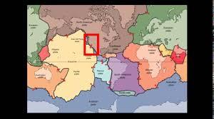 Plate Tectonics Map 3 Types Of Tectonic Plate Boundaries Youtube