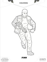 coloring page star wars the force awakens star wars free coloring pages for your