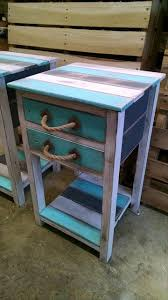 Wood Plans For Bedside Table by Best 25 Pallet Night Stands Ideas On Pinterest Diy Furniture