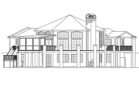 front to back split house plans