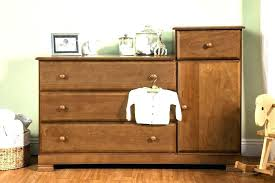 Crib Dresser Changing Table Combo Wood Changing Table An Adorable Farmhouse Dresser Makes A