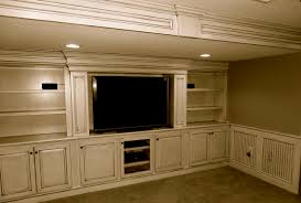 Media Room Built In Cabinets - custom built in entertainment center traditional home theater