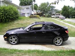 Mercedes C Class Coupe 2008 Blackc320 2003 Mercedes Benz C Classc320 Sport Coupe 2d Specs