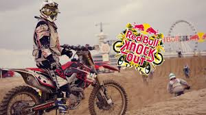 red bull racing motocross the toughest beach race red bull knock out 2016 youtube