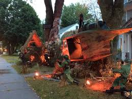 west hartford halloween decorations commemorate vietnam war fox 61