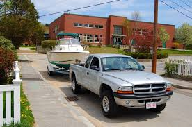 2007 dodge dakota towing capacity towing with a dodge dakota the hull boating and fishing