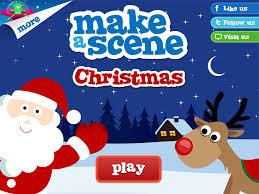 christmas make a scene educational sticker apps for children