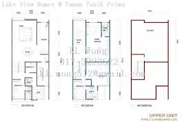 setia walk floor plan lake view homes taman tasik prima for sale klw 14 01 puchong
