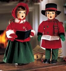 carolers dolls and noel caroler dolls
