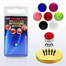 cercei cu magnet magnetic piercing ebay