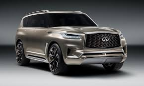 infinity car infiniti preps qx80 monograph concept for new york