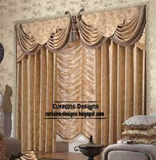 unique living room curtain design butterfly valance style
