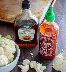 sriracha 2 go maple sriracha roasted cauliflower baker by nature